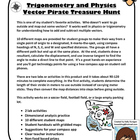 Vector Pirate Treasure Hunt - Physics, Trigonometry