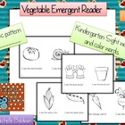 Vegetable Emergent Reader
