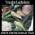 Vegetables Printable Photo Poster Pack
