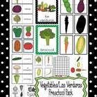 Vegetables/Las Verduras Preschool Pack