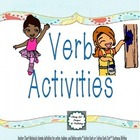 Verb Activities by The Teacher&#039;s Work Room 