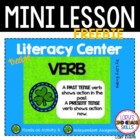 Verb Literacy Center - FREEBIE
