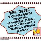 Verb Tenses: Organizers for Teachers / Students, Practice Handout