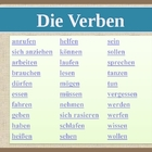 Verben (Verbs in German) power point