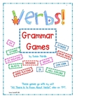 Verbs: Grammar Games