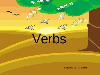 Verbs II Power Point Presentation