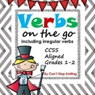 Verbs Including Irregular Verbs - Common Core Aligned Grades 1-2
