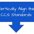 Vertically Align CCS Math Standards Professional Developme