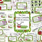 Very Hungry Caterpillar Common Core Math &amp; Literacy Unit