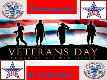 Veterans Day Activities and Powerpoint