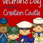 Veterans Day Activities Packet!