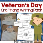 Veteran&#039;s Day Craftivity and Writing Pack