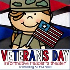 Veterans Day Informative Reader's Theater