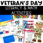 Veteran&#039;s Day Math and Literacy Activities