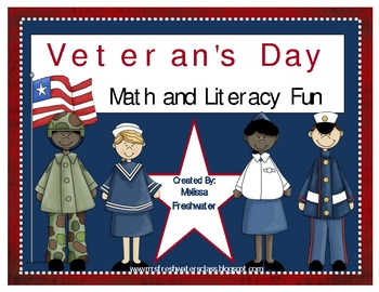 Veteran's Day Math and Literacy Fun