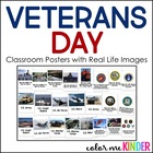 Veterans Day Posters Featuring Real Life Images