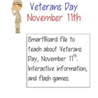 Veterans Day SmartBoard Interactive Lesson