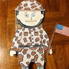 Veteran&#039;s Day Soldier Puppet