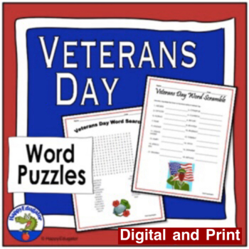 Veteran's Day Word Scramble