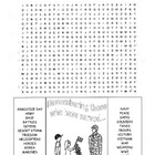 Veterans Day Word Search Puzzle / 3rd Grade / 4th Grade /