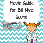 Video Worksheet for Bill Nye - Sound