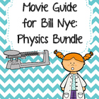 Video Worksheets for Bill Nye - Physics Bundle