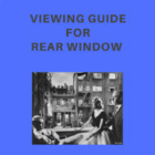 Viewing Guide for the film &quot;Rear Window&quot;
