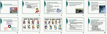 Violence Abuse Smartboard Notebook Presentation Lesson Plan
