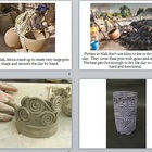 Visual Arts: Elementary Coil Pottery Power Point Presentation