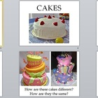 Visual Arts: Kindergarten Cake Power Point Presentation