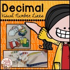 Visual Decimal Number Lines