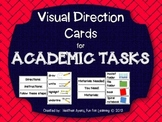 Visual Direction Cards for Academic Tasks