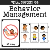 Visual Direction Cards for Behavior {For Students with Spe