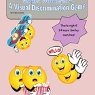 Visual Discrimination: Matching Smiley Game Set 2