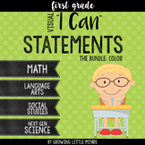 """Visual """"I Can"""" Statements for Common Core Standards-  Colo"""