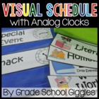 Visual Pocket Chart Schedule Cards