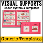 Visual Supports for Kids with Special Needs {Generic Templates}