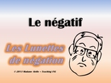 Visual Way to Teach Negative French