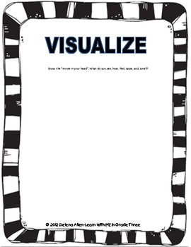 Visualize Graphic Organizer