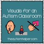 Visuals for an Autism Classroom