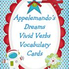 Vivid Verbs Word Wall Cards Appelemando's Dreams by Patric