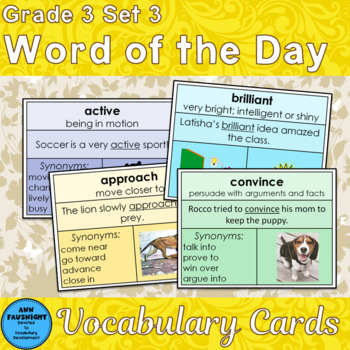 Voc Development Mega-Combo A Word of the Day + Games and A