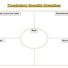 Vocabulary Activities and Brainstorming Ideas Graphic Organizer
