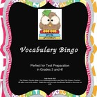 Vocabulary Bingo for Test Preparation