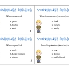Vocabulary Builder Task Cards