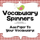Vocabulary Comprehension Center Common Core Aligned ELA L.