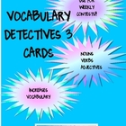 Vocabulary Detectives Task Cards 3