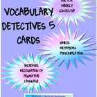 Vocabulary Detectives Task Cards 5