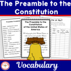 Vocabulary Development: The Preamble for Kids