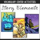 Vocabulary Fun: Story Elements {Game & Activity Pack}